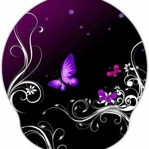 Office - Butterfly Memory Foam Mouse Pad Nonslip Base